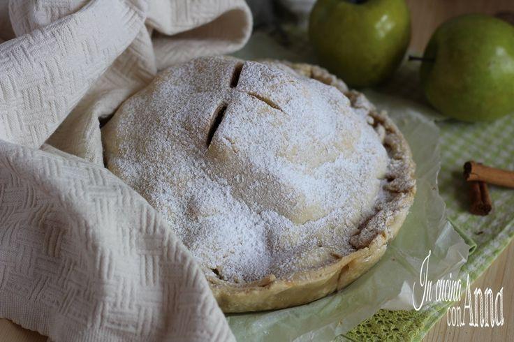 L'apple pie è la torta di mele per eccellenza,di origini Inglesi e sbarcata successivamente in America è diventata la torta di mele più famosa del mondo...