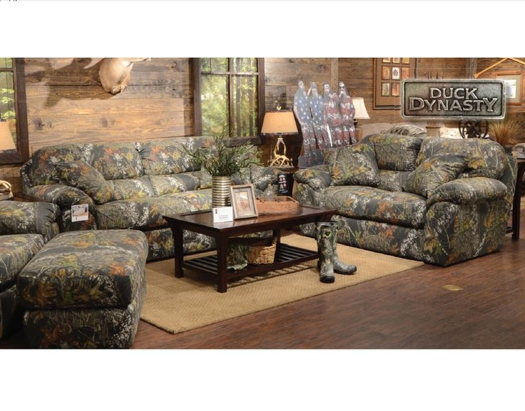 Beautiful Camo Living Room Furniture Part 2