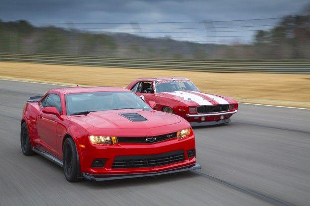 Big Red Camaro vs 2014 Chevrolet Camaro Z28