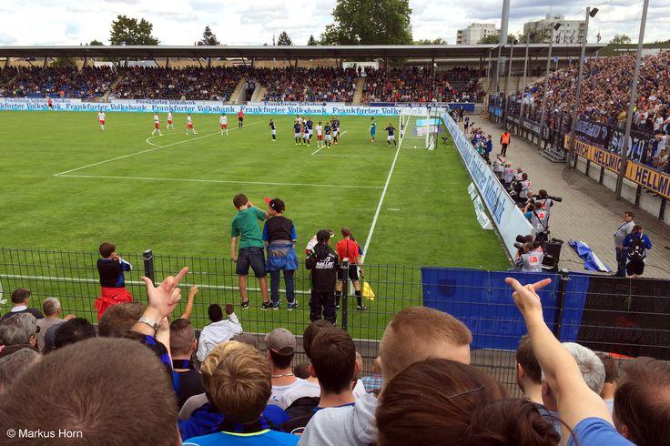 FSV Frankfurt - RB Leipzig 0:1, 25.7.2015 #ZweiteBundesliga