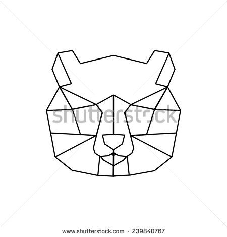 [inspiration] Illustrated Geometric Panda