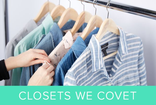 The triangular structures in your closet are so much more than a vehicle for hanging clothing -- they're smellable sachets, they're purse organizers, they're beautiful, and they're essential to your closet-organization goals. Check out these 10 tricks to help your hangers better help you organize your closet.