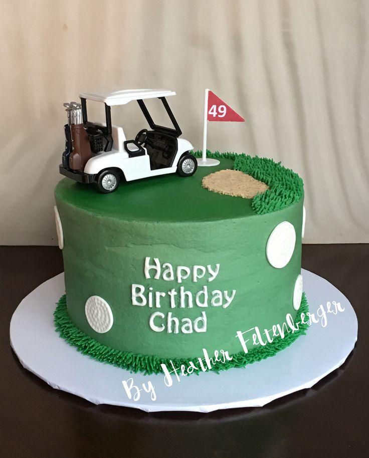 Best 25 Golf Birthday Cakes Ideas On Pinterest Golf