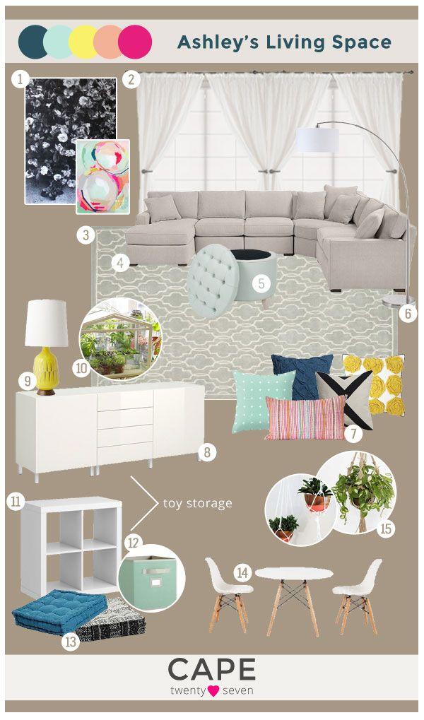 Ashley's Living Space   Cape 27 Custom Mood Boards