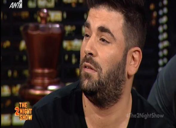 Παντελής Παντελίδης: Δείτε την εμφάνισή του στο The 2night Show (βίντεο)