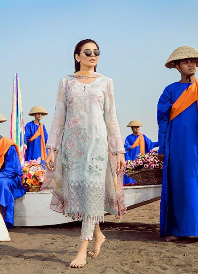 c15eae9ff9 Iznik Chinon Lawn Collection 2018 | Desi fashion | Fashion, Dresses ...