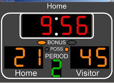 NBA basketball printable clip art | Basketball Scoreboard Standard v1.1.3 by M D Innovations ...