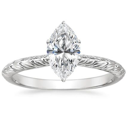 18K White Gold Garland Ring from Brilliant Earth