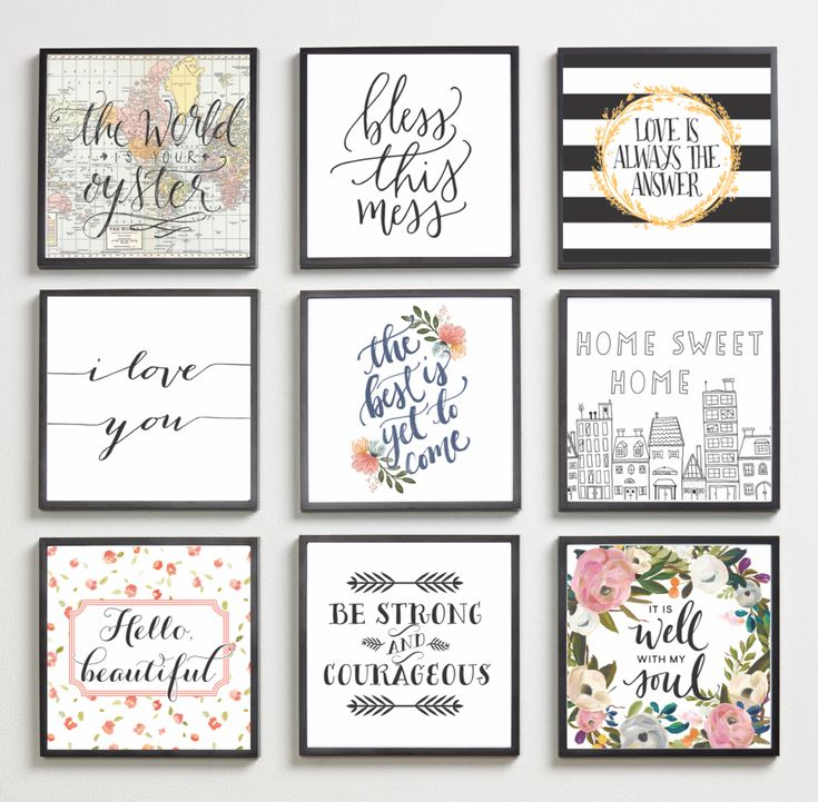 Clever Kids Room Wall Decor Ideas Inspiration: Classic Inspirational Home Quotes In 2019