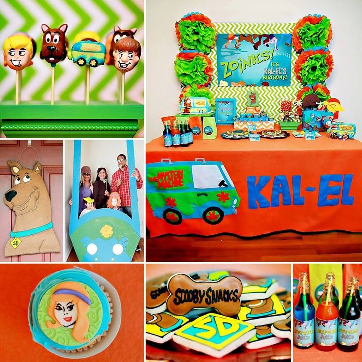 Scooby Doo Baby Shower Theme: 17 Best Images About Kids Birthday Parties On Pinterest