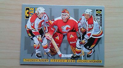 Theoren fleury -  calgary flames -   3 star #selection - 312 - nhl #hockey #cards,  View more on the LINK: 	http://www.zeppy.io/product/gb/2/391354743465/
