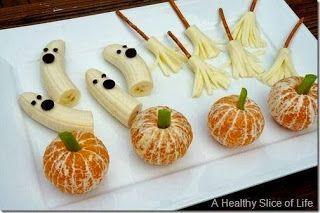 10 Nyttiga Halloween Snacks :)