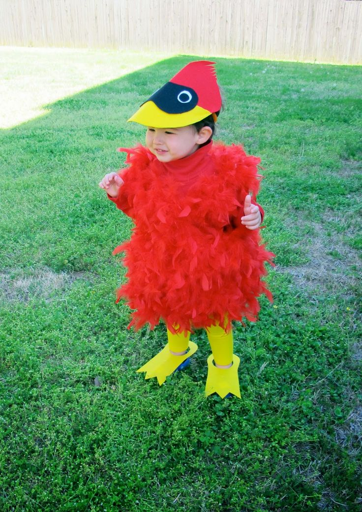 love and lion: DIY HALLOWEEN COSTUMES FOR LITTLES - CARDINAL