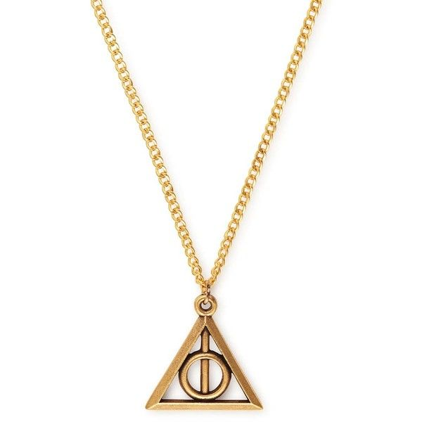 Deathly Hallows Necklace - ALEX AND ANI ($28) ❤ liked on Polyvore featuring jewelry, necklaces, alex and ani necklace, alex and ani jewelry and alex and ani