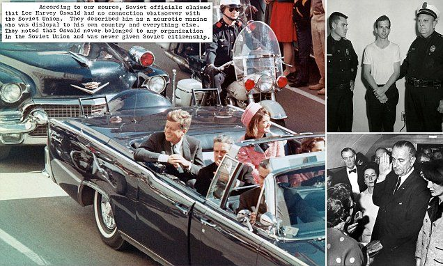 How Soviet Union feared blame over JFK's assassination | Daily Mail Online