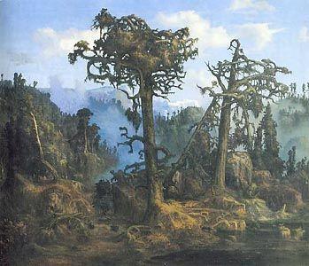 Monograffi - Nordic Landscapes. By Lars Hertervig. 1866