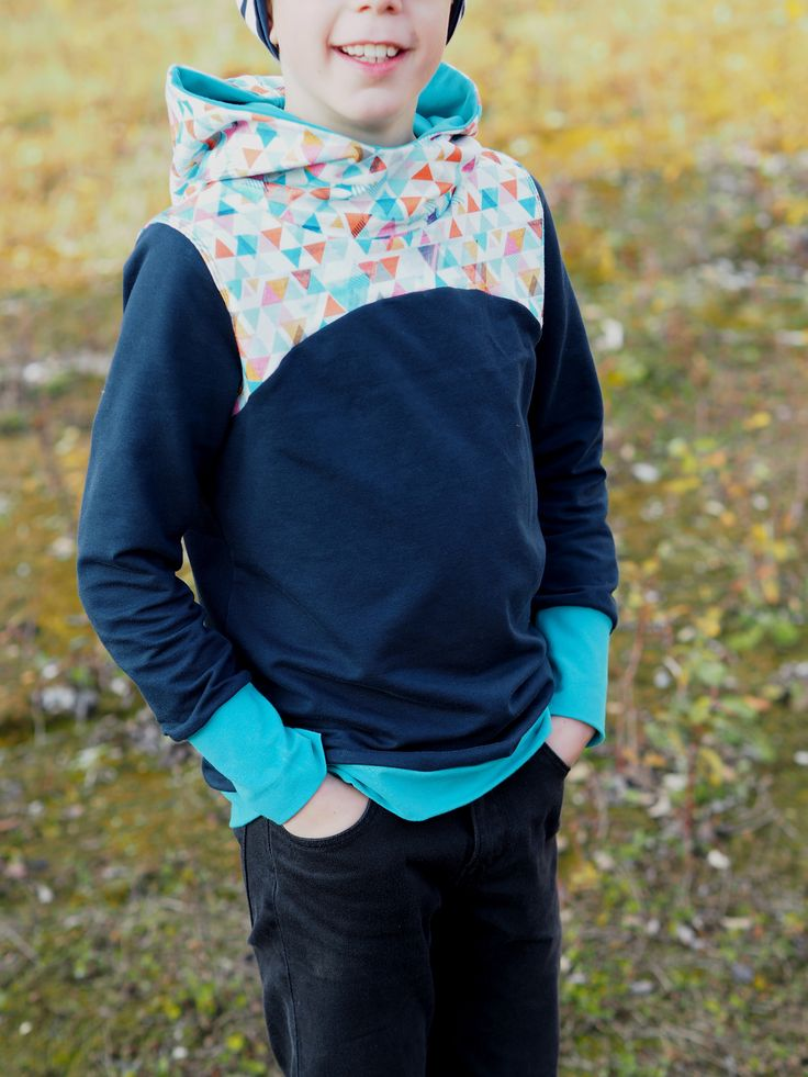 #schnittmuster #zauberlehrling #hood #zuckerwolkenfabrik #hoodie #sweat #sweatshirt #nähen #kinder