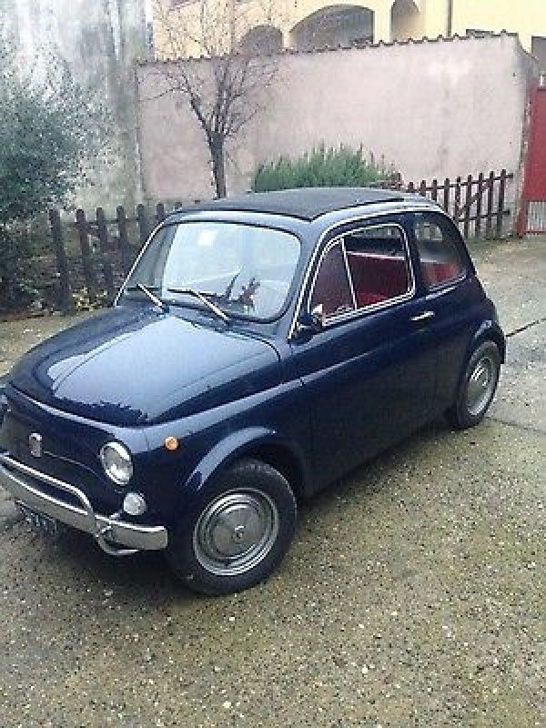 1970 Fiat 500 fiat 500 L 1970(car is in italy)