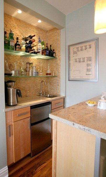 Pequeña cocina en el apartamento de unos 20 metros cuadrados - Diseño de…