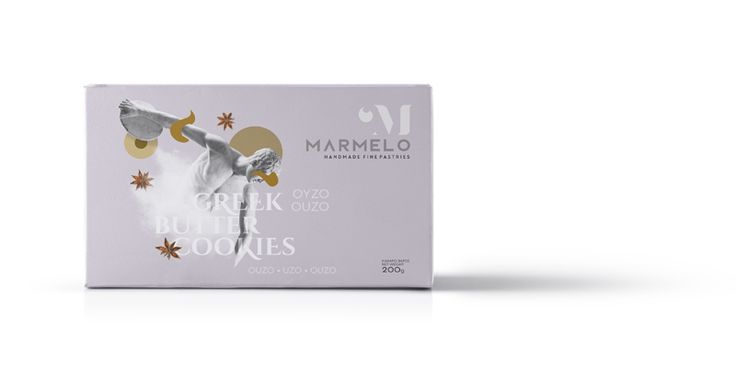 MARMELO - OUZO GREEK BUTTER COOKIES