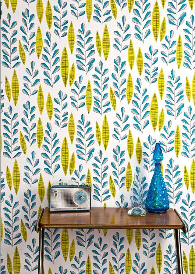 Papier peint Garden City Room - Miss Print  - Marie Claire Maison