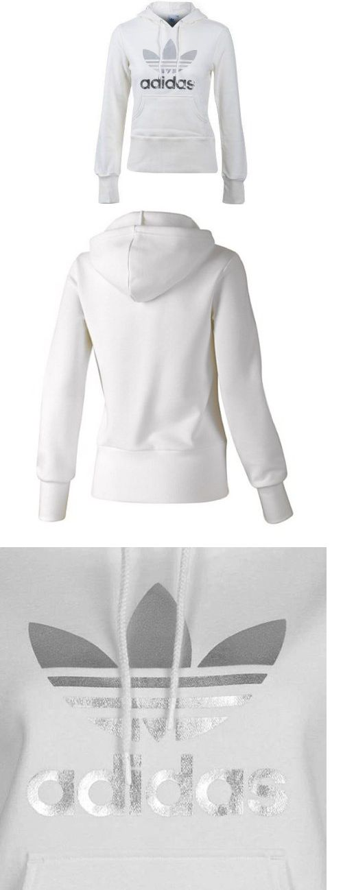 adidas Womens Trefoil Hoody - Gear by adidas - Active Hoodies - Apparel - ADIDAS Women's Shoes - http://amzn.to/2iYiMFQ