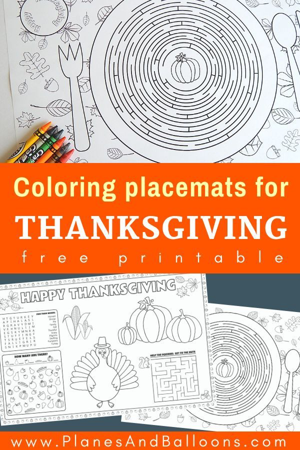 graphic about Free Printable Thanksgiving Placemats titled Printable Thanksgiving placemats for little ones in direction of remedy and colour