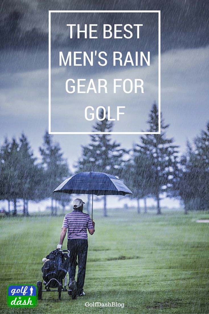 Playing golf in the rain is . . . well. . . not so much fun. You get as soaked…