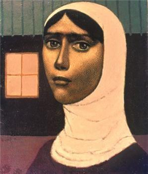 Nuri İyem 1915-2005 Turkish painter.