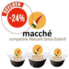 50 CAPSULE COMPATIBILI DOLCE GUSTO MACCHÈ CAFFÈ ILDOLCE INTENSO