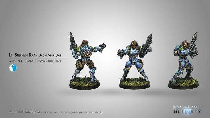 Lt. Stephen Rao, Bagh Mari Unit (Assault Pistol)