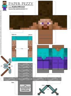 Minecraft Party ~ Decorations ~ FREE printables {click the picture to take you to even MORE printables}
