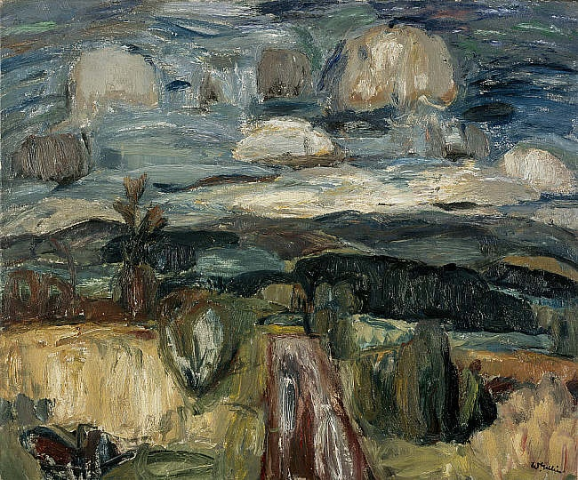 Near Durisdeer, Sir William Gillies (Scottish, 1898 - 1973).