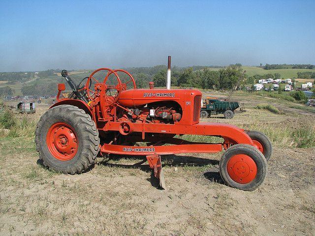 Vintage Allis Chalmers Tractors : Allis chalmers antique grader