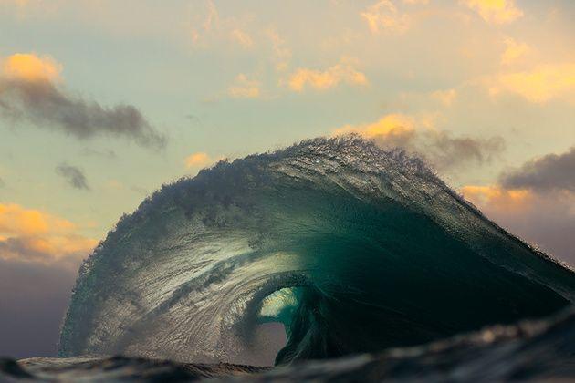Океанские волны Мэтта Бержесса