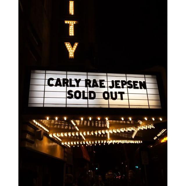 Carly Rae Jepsen, Fairground Saints & Cardiknox performed on Wednesday at Varsity Theater