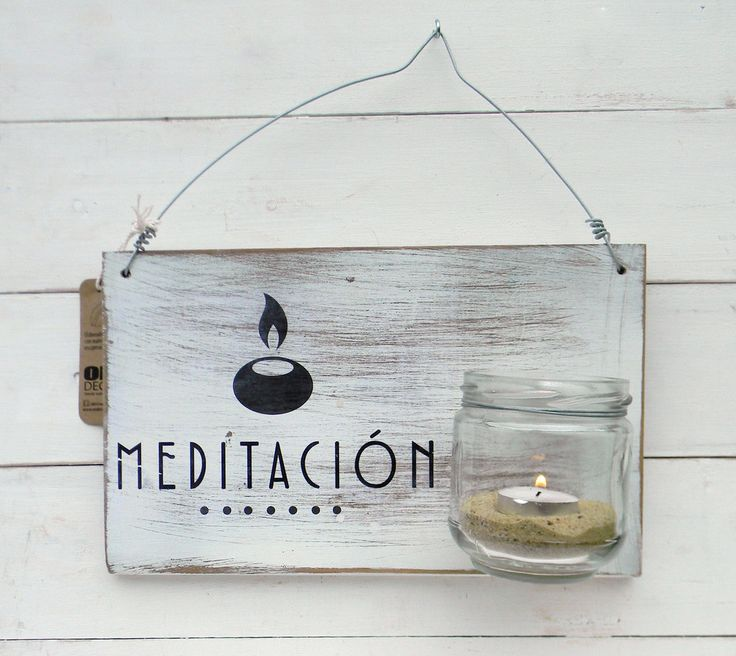 Luminaria con vaso|Meditación - Comprar en ONDECO
