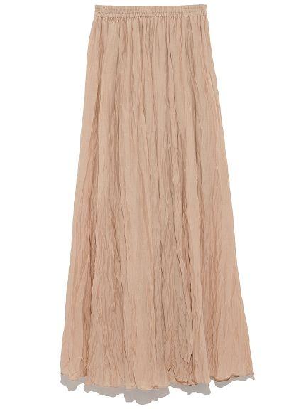 シルクブレンドワッシャーロングスカート(ロングスカート)|FRAY I.D(フレイアイディー)|ファッション通販|ウサギオンライン公式通販サイト