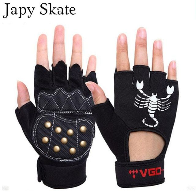 Japy Skate Professional Skating Glove Seba Professional Protection Gloves Roller Skating Glove Good Quality Athl Skateboard Gloves Roller Skating Wrist Support