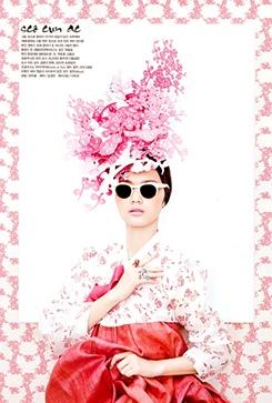 """Vogue Korea, """"Fashion into Art"""" ph: Kang Hyea Won"""