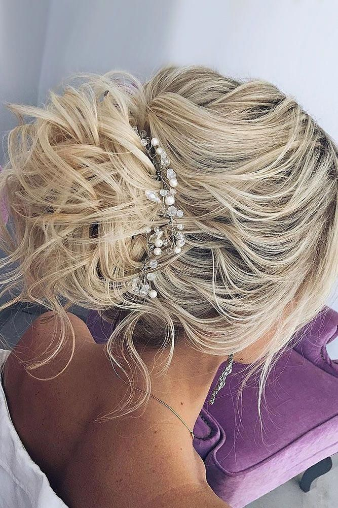 Bridal Hairstyles : 30 Bright Ideas For Fall Wedding Hairstyles  fall wedding hairstyles messy up #Diyhairstyles
