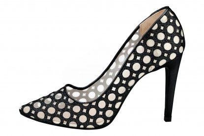 Pantofi de damă cu toc înalt HEINE - negru