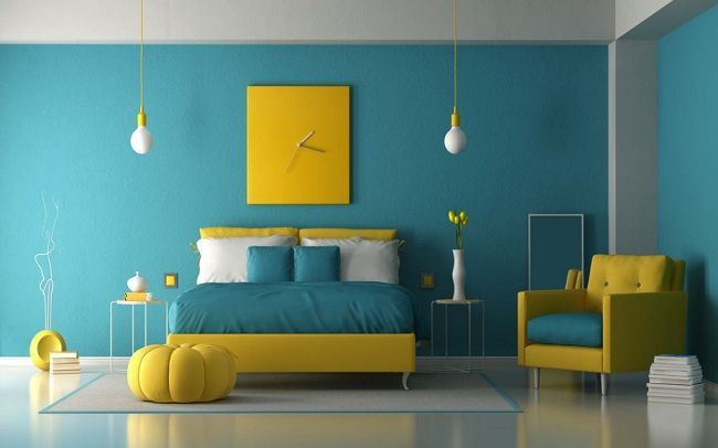 25 Latest Bedroom Painting Designs With Pictures In 2021 Bedroom Color Combination Best Bedroom Colors Room Wall Colors New bedroom wall paint color