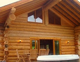 Hidden River Luxurious Cabins, Luxury Cottage in Carlisle, Cumbria Lake District, England