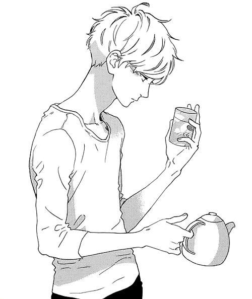 Why did I find this tea-making scene so attractive? XDD mamura daiki, Hirunaka no Ryuusei
