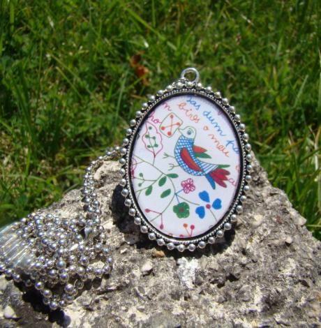 Medalhão - Lenço dos Namorados | Artemix