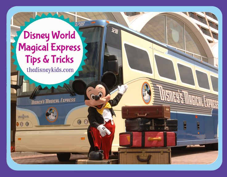 Very helpful post on tips for using Walt Disney World's Magical Express