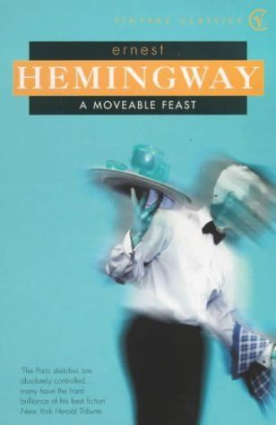 "A moveable feast by Ernest Hemingway     ""If you are lucky enough to have lived in Paris as a young man, then wherever you go for the rest of your life, it stays with you, for Paris is a moveable feast."""