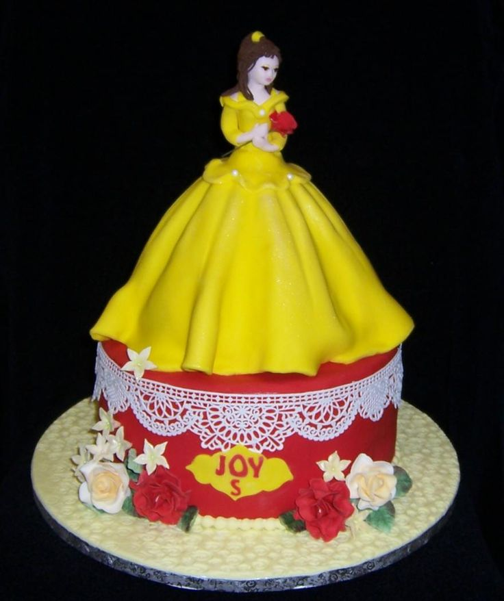 1000+ images about Cakes - Princess Belle on Pinterest ...