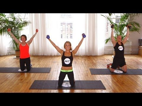 10-Minutes Arm Workout From Kelly Ripa's Trainer | Class FitSugar - YouTube